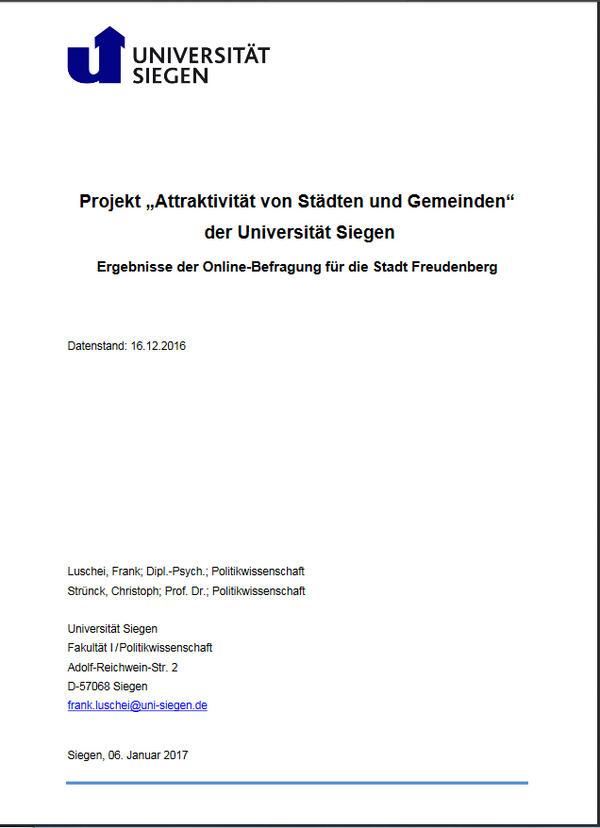 Attraktivität von Städten und Gemeinden - PDF