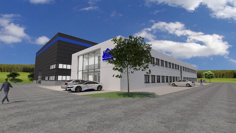Planansicht Neubau KLEIN Anlagenau AG
