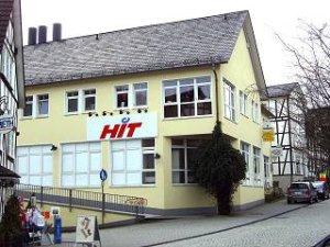 Krottorfer Straße 2, Passage im HIT Verbrauchermarkt