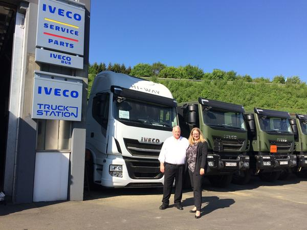 Fimenbesuch IVECO