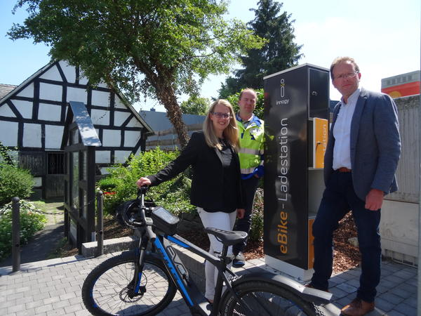 Neue E-Bike-Ladestation